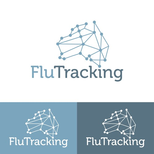 FluTracking Logo Design