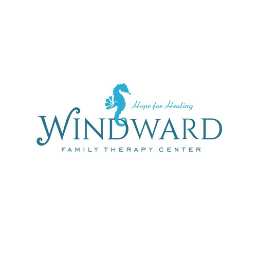 Seahorse logo for Windward Family Therapy Center
