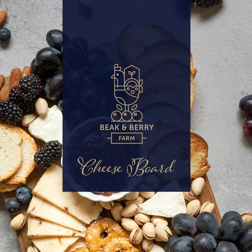 Beak & Berry Farm Logo Concept