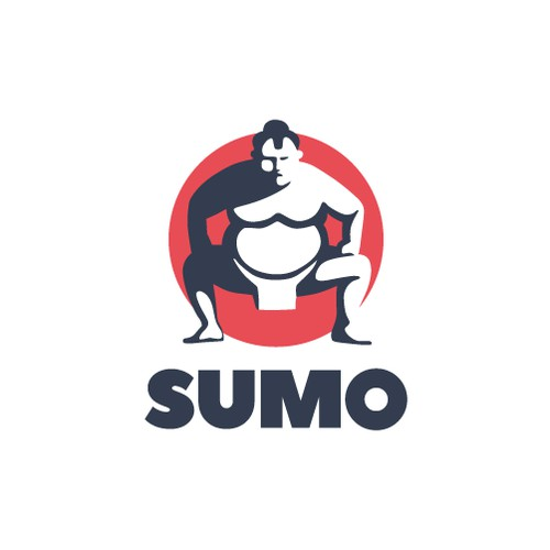 Unique SUMO Character Logo for Retail Products