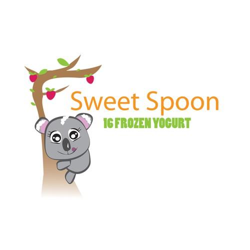 Fro yo logo design