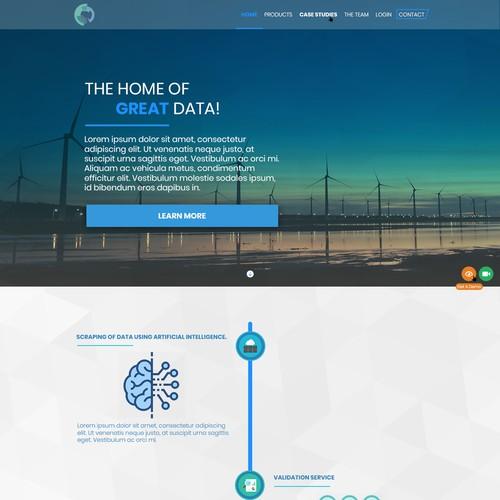 A Clean Website