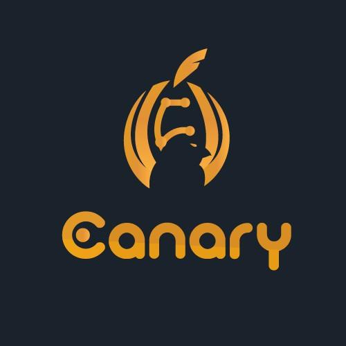 logo design canary bird