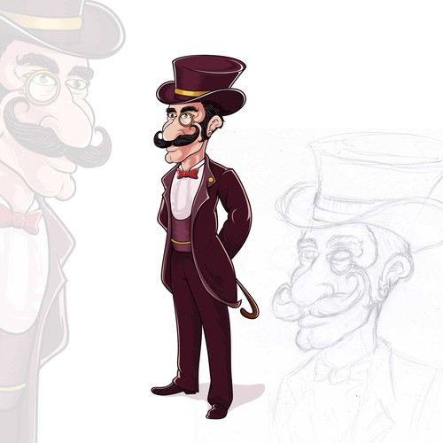 Classy Retro Characters