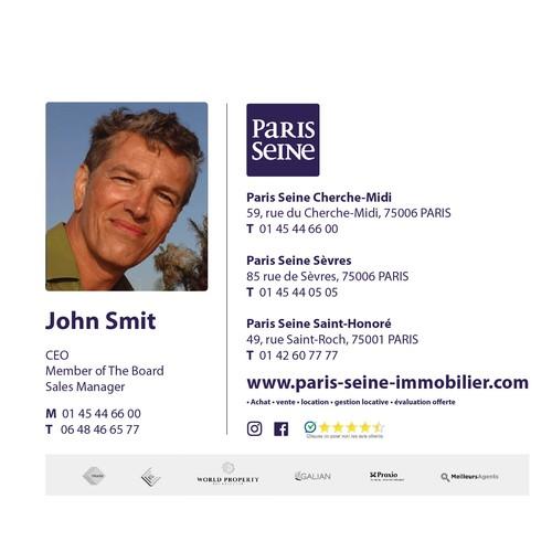 PARIS SEINE Email Signature