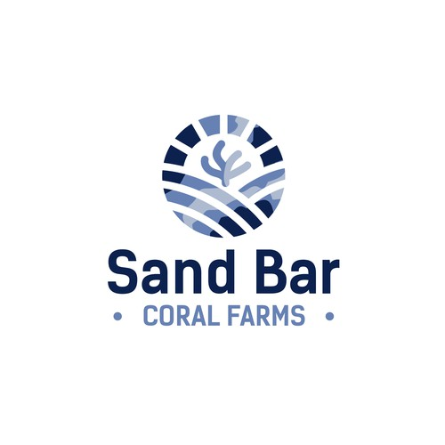 SandBar Coral farms logo