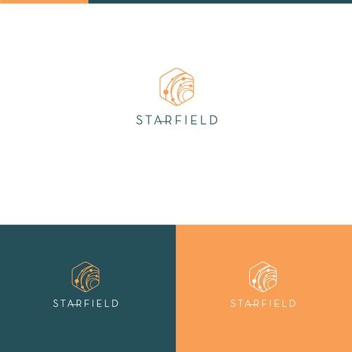 Modern logo for medical app