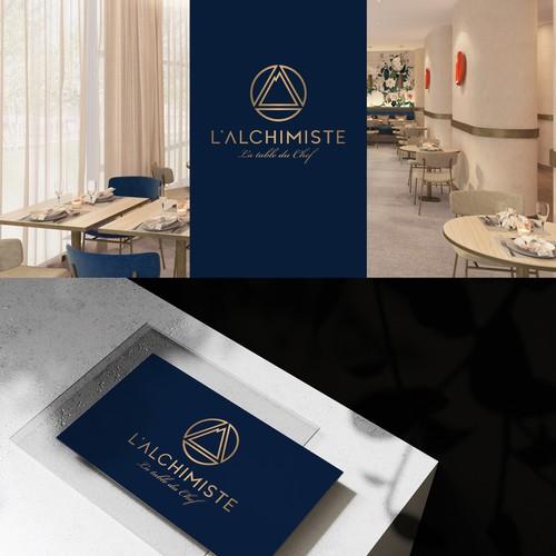 Logo design for L'Alchimist