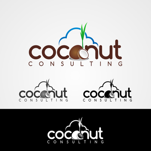 Create a logo for Coconut Consulting - deliver services in cloud software