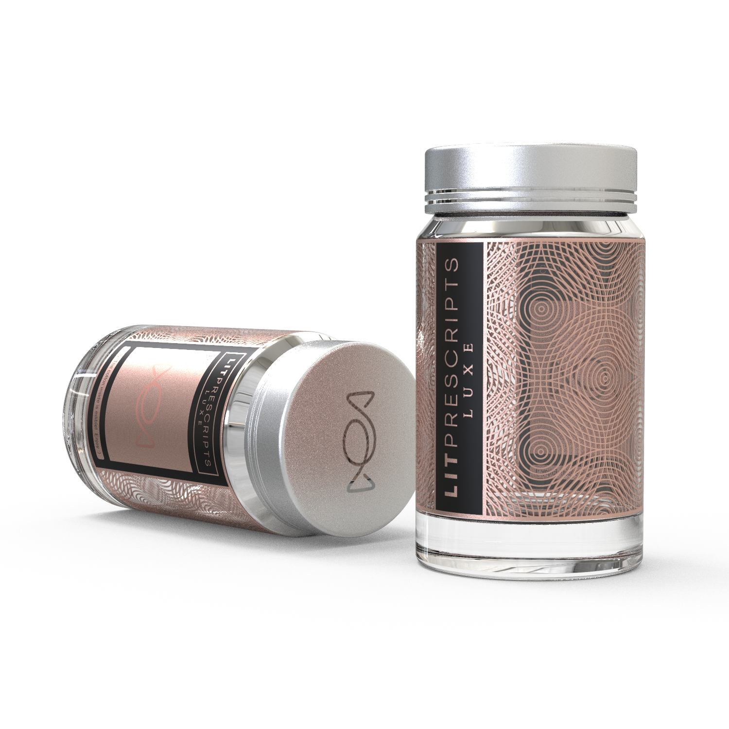 label desgn for luxury custom gifting service for Lit Prescripts