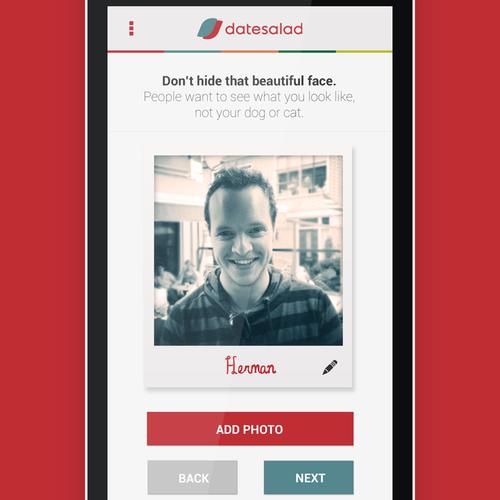 DateSalad Needs Mobile App Design