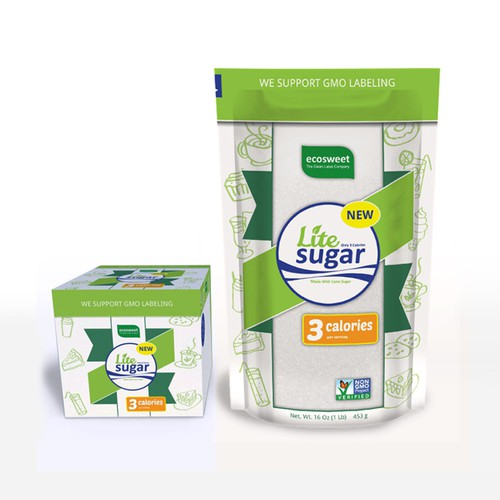 Create innovative packaging for Diet Sugar