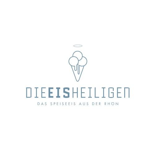 Logo für eine Speiseeisproduktion