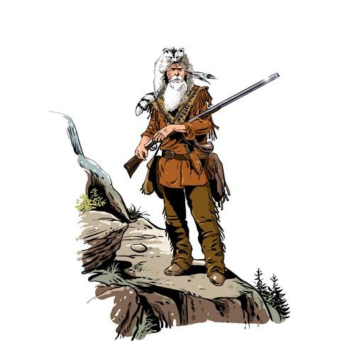 1800s man mountain
