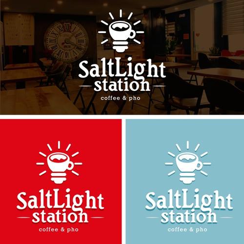 Coffee and light Logo