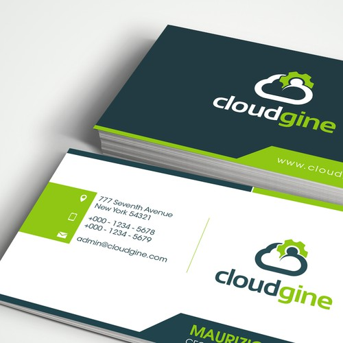 Create a cool modern logo for Cloud Gaming company Cloudgine