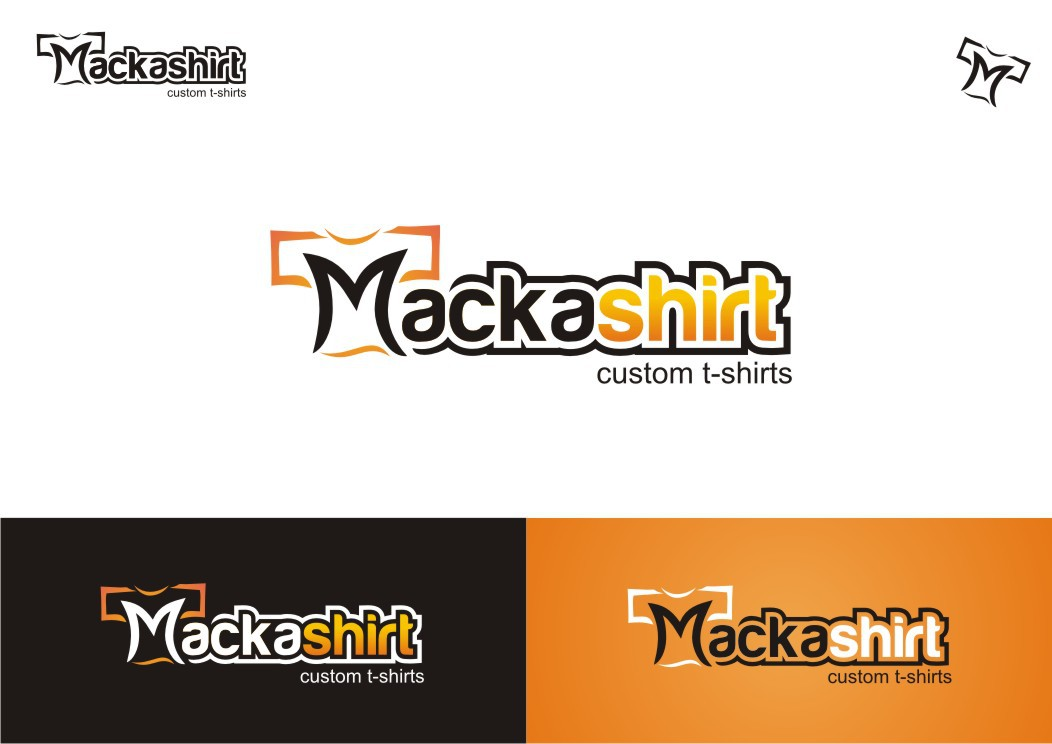 Help Mackashirt with a new logo
