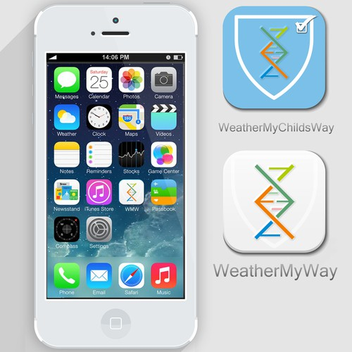 Weather My Way Icon Design