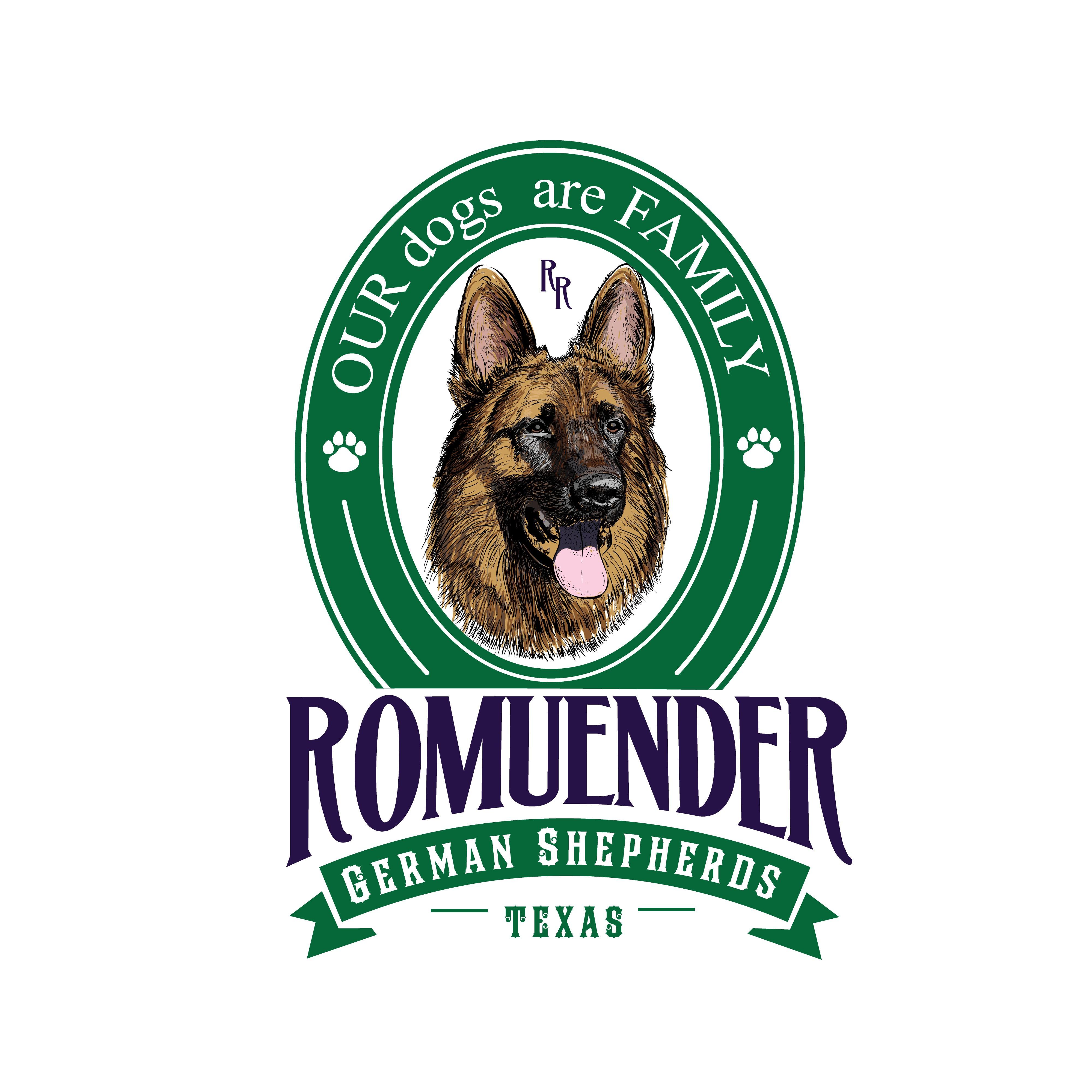 Create a Unique logo for Man's Best Friend- the German Shepherd