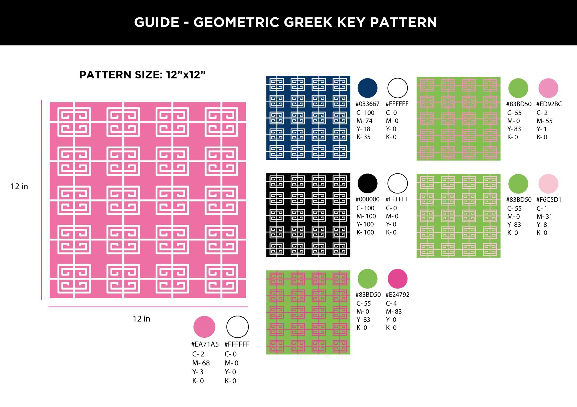geometric for apparel
