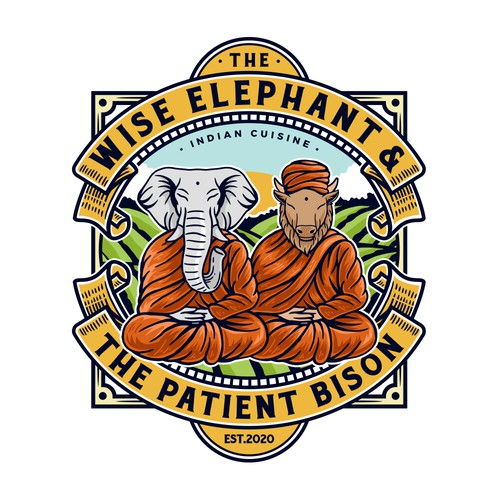 The Wise Elephant & The Patient Bison