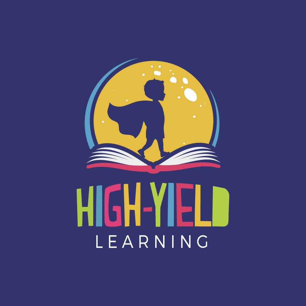 "Kids learning center ""High Yield Learning"" needs an identity logo"