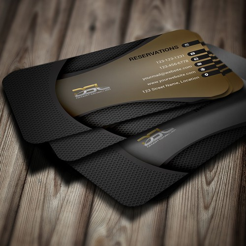 DSL Business Card Design