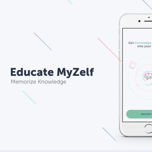 Educate MyZelf app design