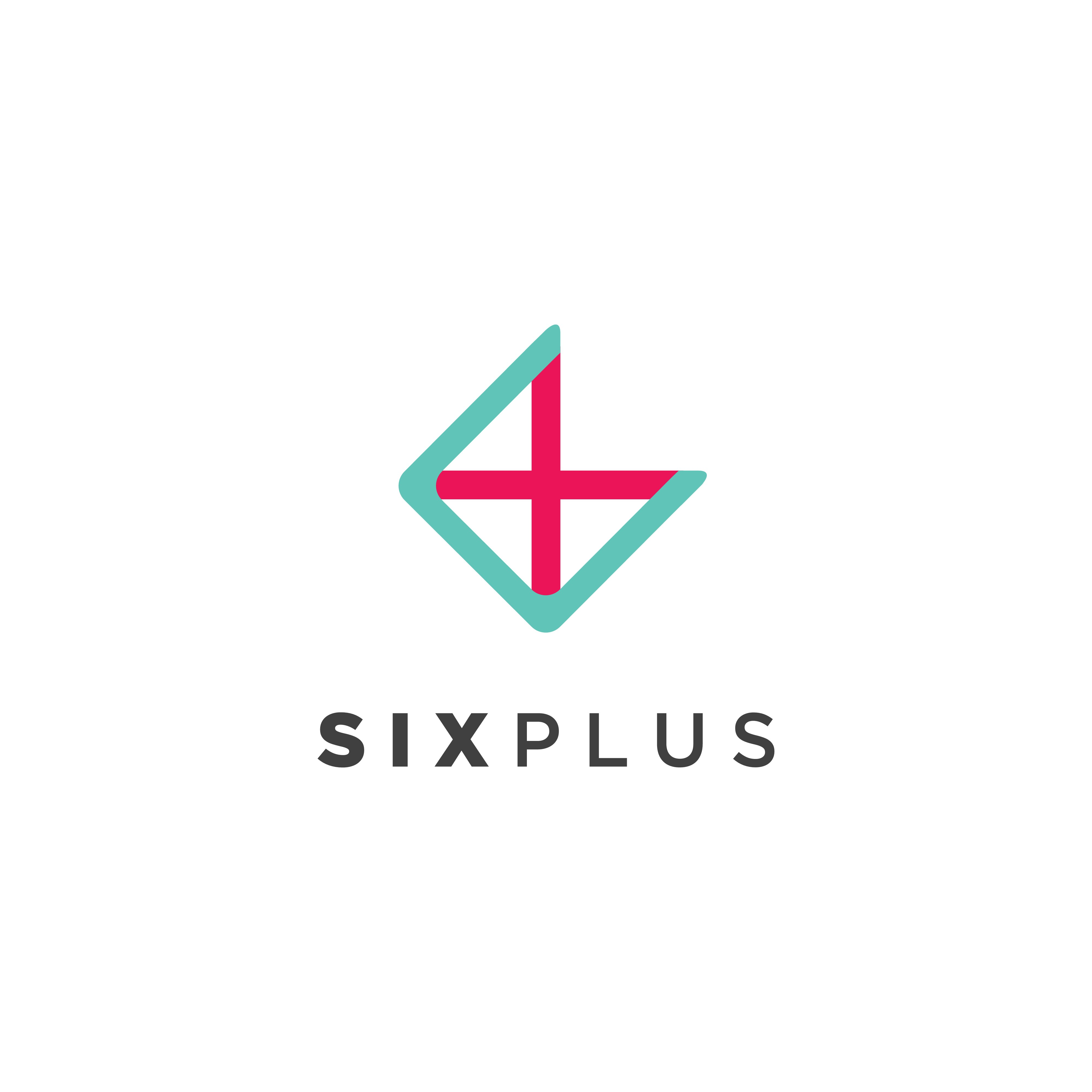 Create a sleek and sophisticated logo for SixPlus, a private dining concierge service.