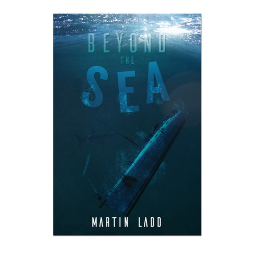 Book Cover Concept for Martin Ladd's Beyond The Sea