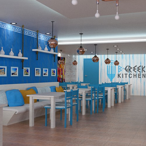 Greek restaurant design