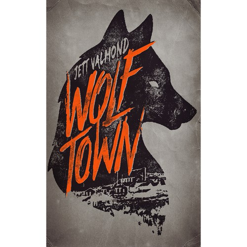 "eBook cover design for ""Wolf Town"""