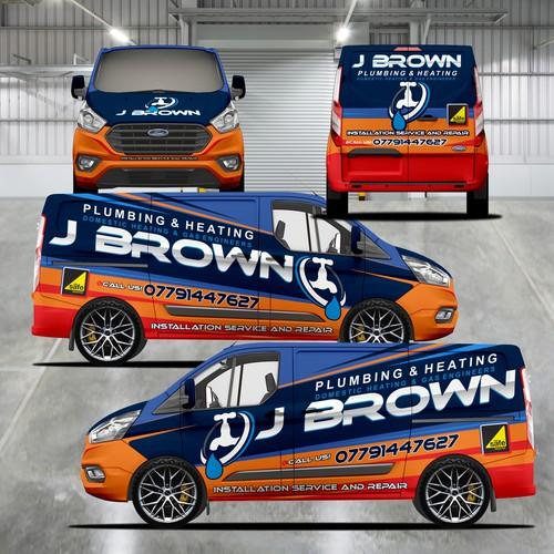 J BROWN