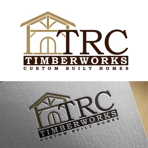 Logo for a custom timber frame builder