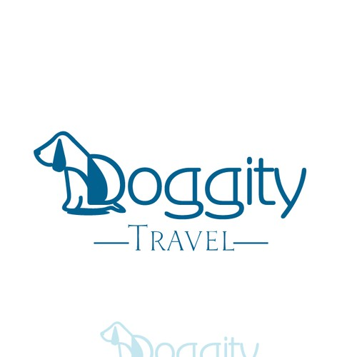 logo concept for a company selling travel kits for dogs