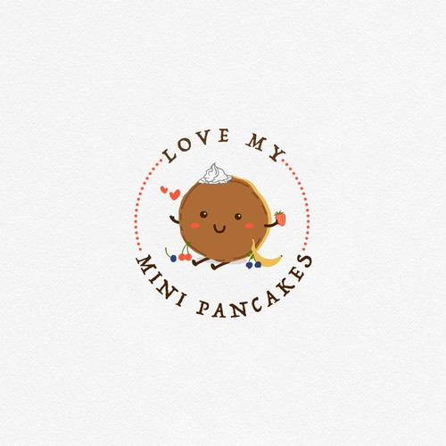 Logo for mini pancake house