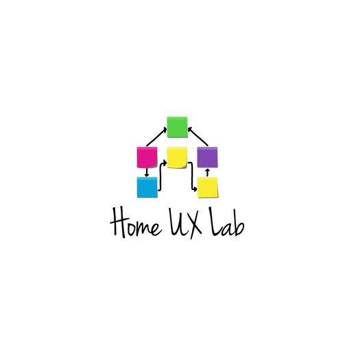 Cool logo for UX research company