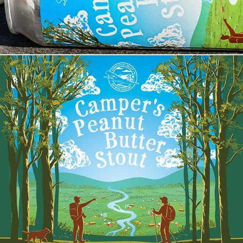 Camper's Peanut Butter Stout