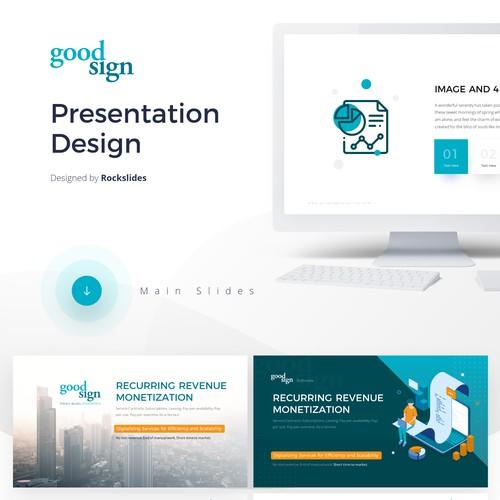 Design a stunning powerpoint template