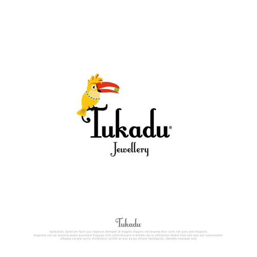 "Logo Design ""Tukadu"" Jewellery, handmade in berlin since 1993"