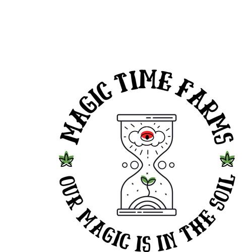 Design a Mystical & Playful logo for the Marijuana Industry