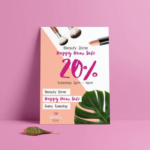 happy hour beauty sale