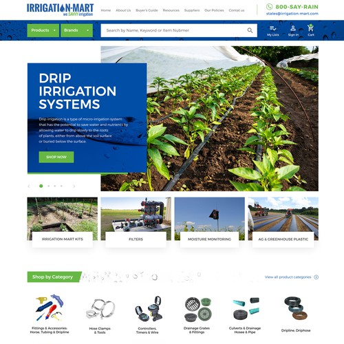 Irrigation Market Website