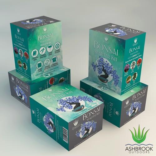 Bonsai Starter Kit Packaging Design Contest.