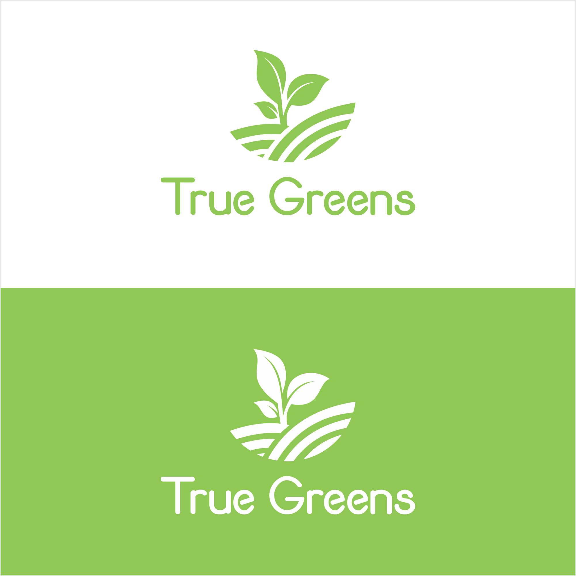 🌱 Logo for plant based, organic food producer