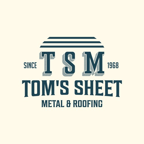 Tom's Sheet Metal & Roofing Really, Really wants a NEW logo