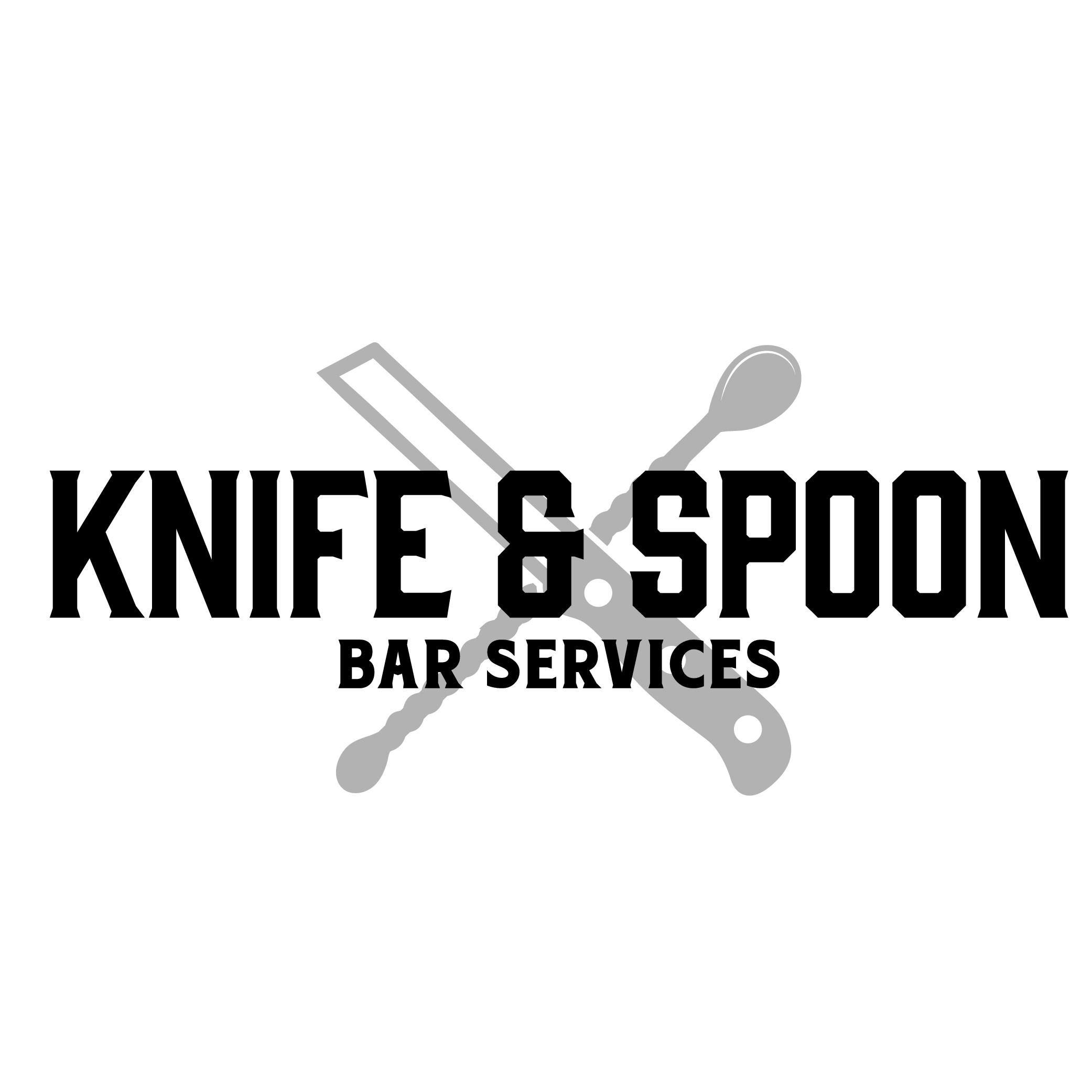Knife & Spoon needs a classy new logo for bartending services.