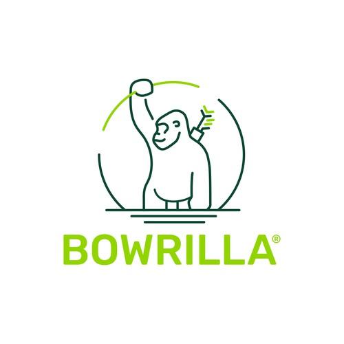 Bowrilla logo design