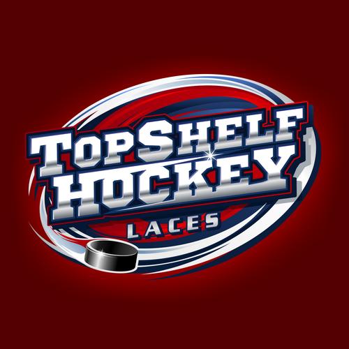 TOP SHELF HOCKEY Logo Designs