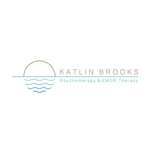 Calming minimal logo